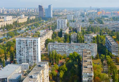 Cityscape of Kiev. Kiev is the capital of Ukraine