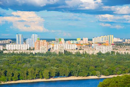 dniepr: Architecture of Kiev - the capita of Ukraine