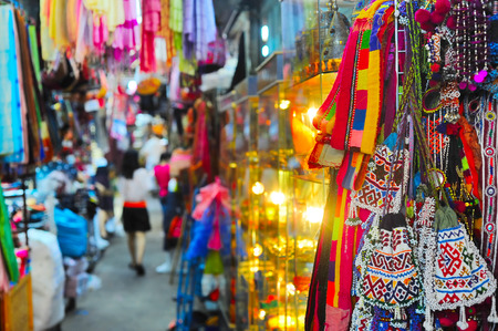 IT: Chatuchak weekend market in Bangkok, Thailand. It is the largest market in Thailand.  Stock Photo