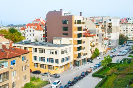 arhitecture: Arhitecture of living district of Sofia, Bulgaria Stock Photo