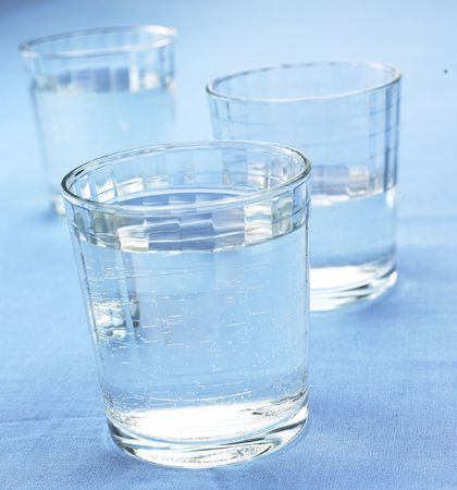 refreshed: water glasses