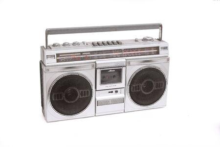 equipo de sonido: caja del auge de radio