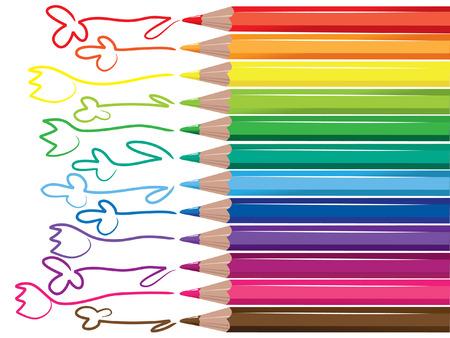 vector pencils Vector