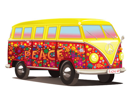 vw: fun bus Illustration