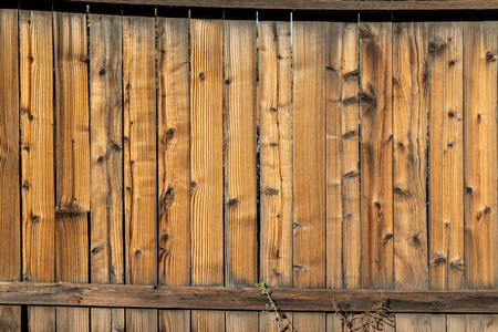 Rustic weathered wood background surface. Wooden wall texture planks.