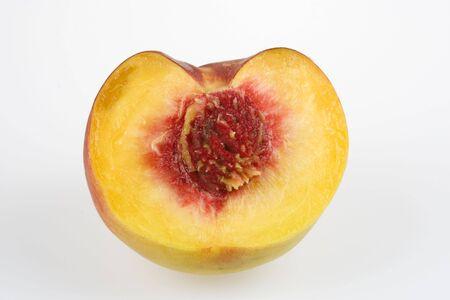 sustenance: Half peaches Stock Photo