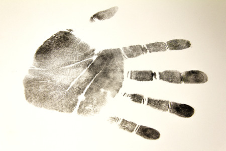 criminologist: fingerprint track