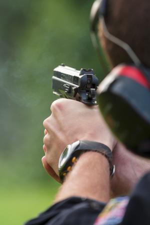 policeman on the range
