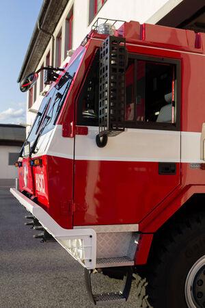 camion pompier: camion de pompier
