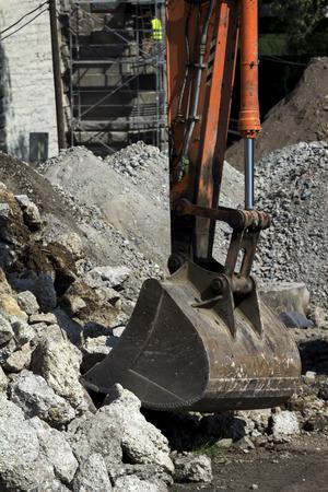 interrupt: Disposal of old buildings machine
