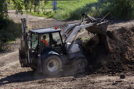maquinaria pesada: demolici�n de la maquinaria pesada puente viejo