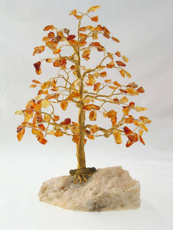 happieness: Tree of happieness made of amber