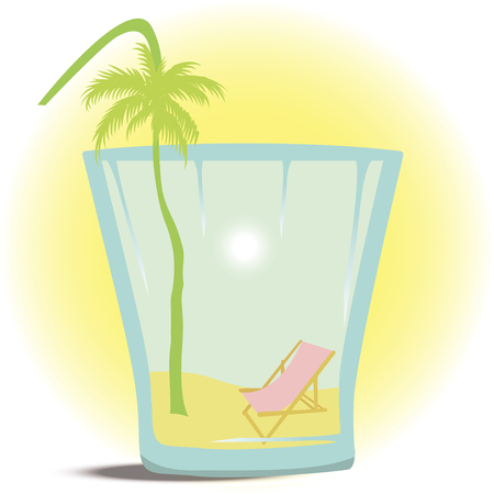hot tour: Summer in the Glass Illustration