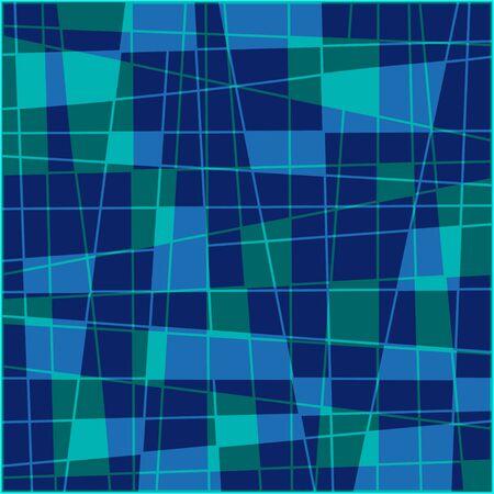 Geometric Quadrangle Background