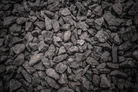 medium size: medium size,textured crushed stone,gravel,can be used as background Stock Photo