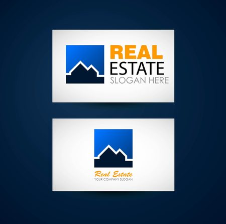 accommodation broker: Real estate logo design. Real Estate business company. Building logo. Real estate design concept. Real estate business card design. Architecture
