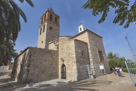 The Basilica of Santa Eulalia, early christian church in Merida