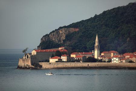 Town Budva in Montenegro