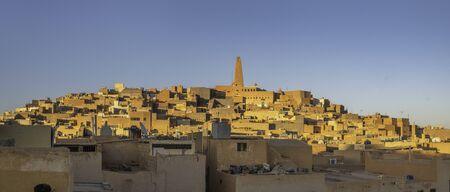 Medieval hilltop city Ghardaia in the M'Zab valley, Algeria