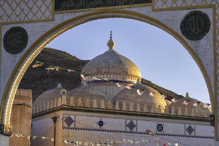 Mosque at El Hamel near Bou Saada, Algeria 免版税图像