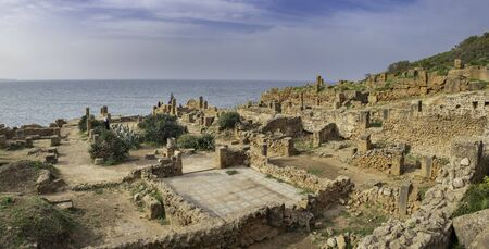 Roman ruins in Tipasa (Tipaza)