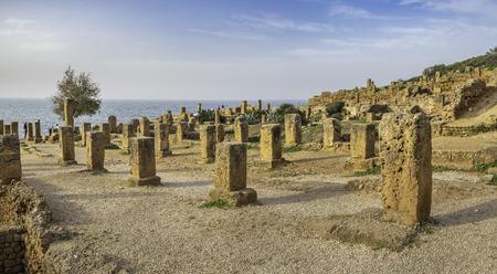 Roman ruins in Tipasa (Tipaza). Algeria