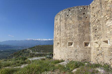 Old fortress near Aptera, Crete, Greece