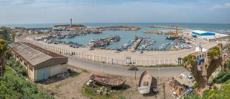 Harbour in Cherchell, roman Caesarea, Algeria