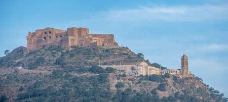 Fort Santa Cruz and church Santa Cruz on the hill over Oran, Algeria 新闻类图片