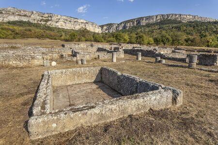 Roman ruins in Madara, Bulgaria