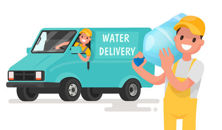 Delivery of drinking clean water.
