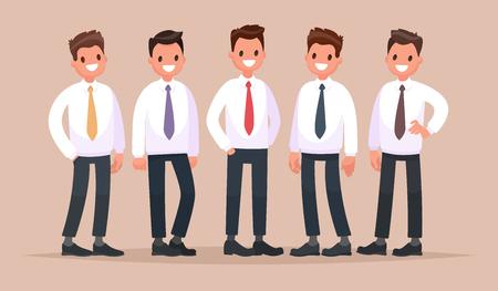 사업 사람들의 그룹입니다.