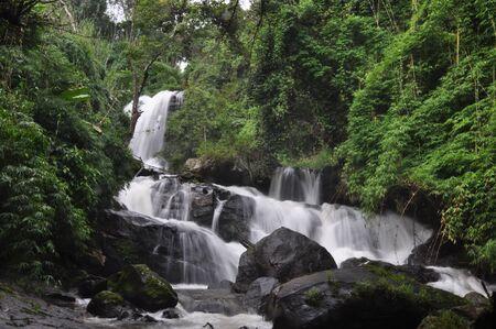 jung: Rak jung Waterfall  Doi Inthanon Chiang Mai Thailand