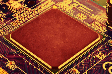 planar: CPU circuit board