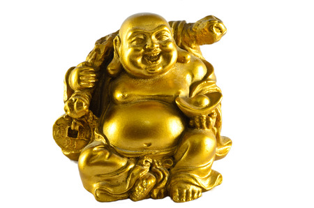 lucky man: Figurine Cheerful Hotei