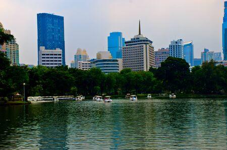 lumpini: Lumpini park Bangkok Thailand Editorial