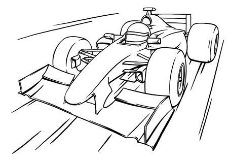 Race Car Diagram