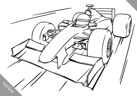 3922 Formula One Car Stock Illustrations Cliparts And Royalty Free