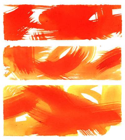 abstrakte Aquarell Hintergrund auf Papier