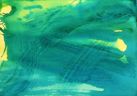 abstract watercolor background on paper photo
