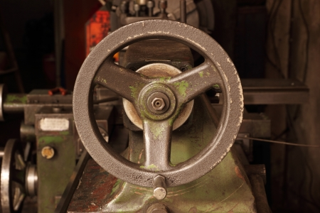 Part of the old lathe  photo
