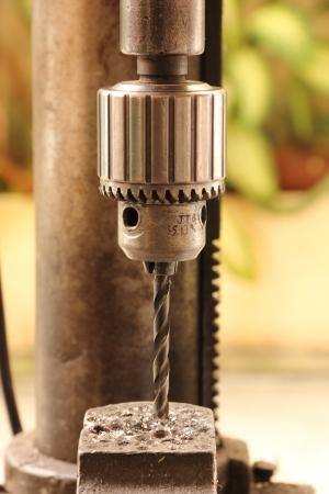 Closeup Bohrmaschine