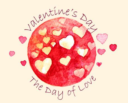 Valentinstag der Tag der Liebe.
