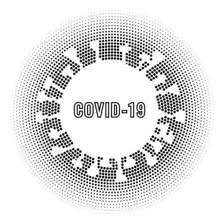 Mock bottle illustration with pump head for advertisement, vector and design. Illustration