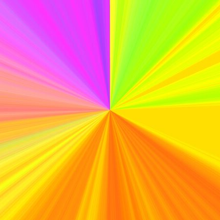 Circular RGB with mixed colors gradient background. Sunshines