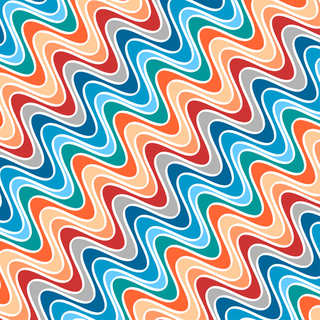 variegated: Diagonal Abstract Pattern of Variegated Waves