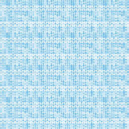 bluish: Bluish striped stylized knitting metaball seamless pattern.
