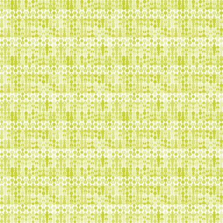 greenish: Greenish striped stylized knitting metaball seamless pattern Illustration