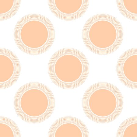 peach Seamless motif de pois
