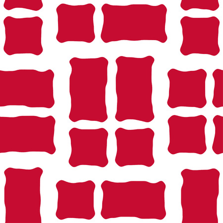 danish flag: Seamless pattern of stylized flags of Denmark. Constitution or National Day flat seamless pattern. Colors of Danish flag. Happy Constitution day of Denmark background.